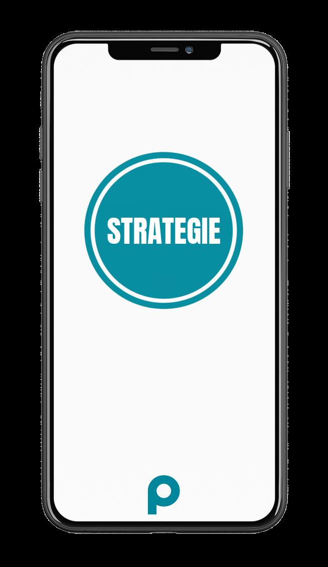 Strategie-Smartphone