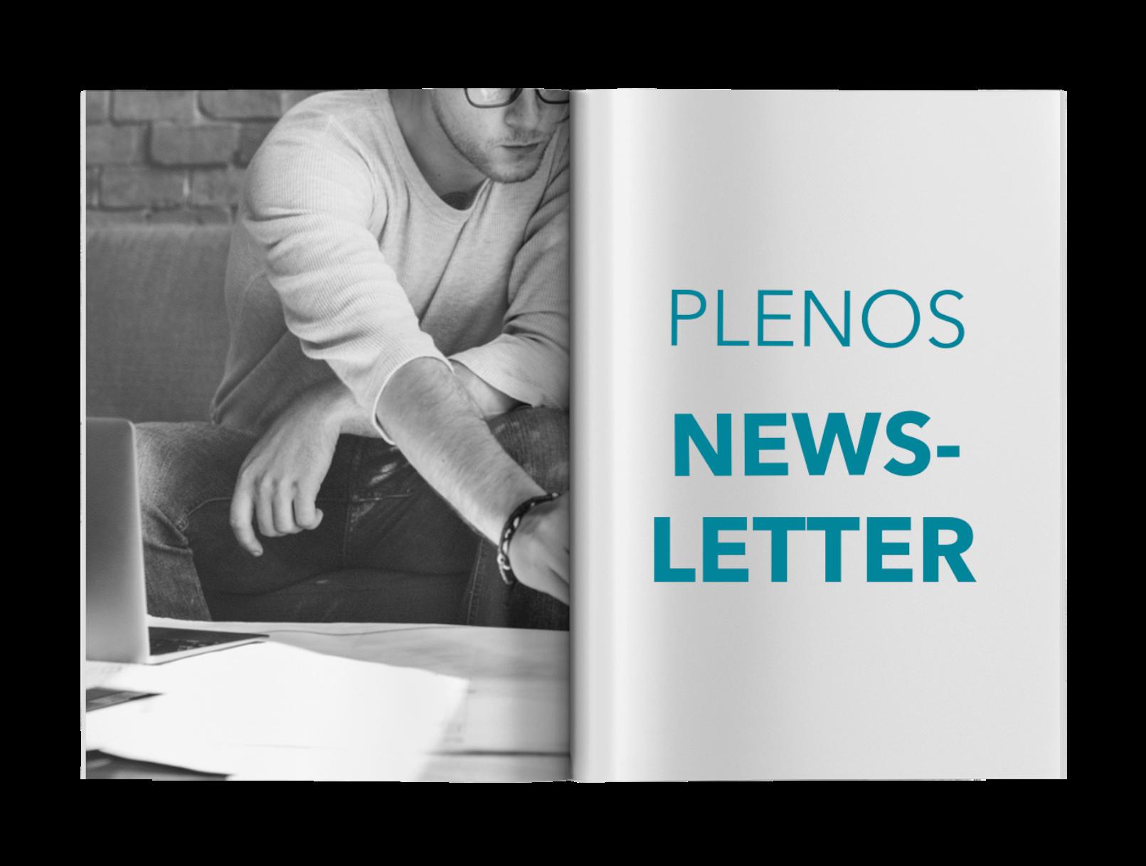 Plenos-Newsletter-Abo